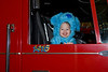 Blues Clues visits the firehouse on Halloween.