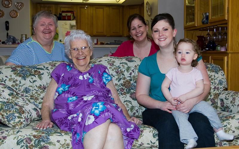Four Generations, Dec 09 version.