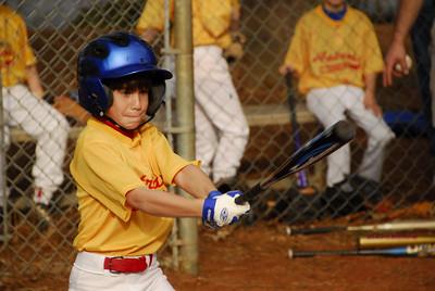 Jimmy at bat