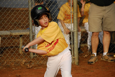 Jeffrey at bat