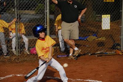 Jimmy batting