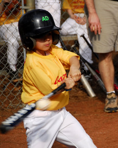 Jack Morgan at bat