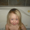 Being goofy in the tub