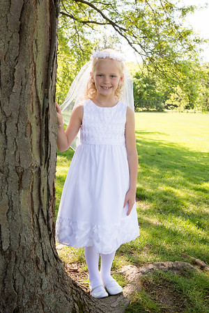 Leah First Communion