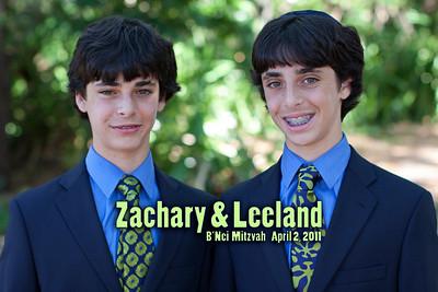 Leeland and Zachary