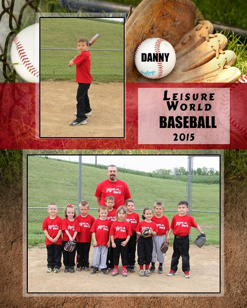 Baseball 1-810 team photo Leisure World Team 2015 team photo Danny proof