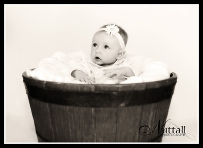 Libby 4 Months 197sepia