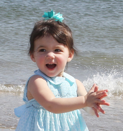 Lily at Beach-priceless
