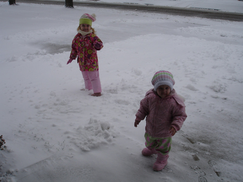 First day of snow