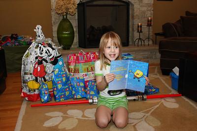 Scarlett's 5th Birthday - March 9, 2012