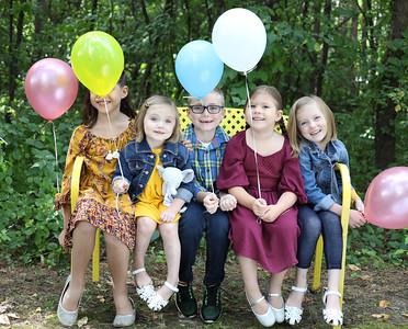 Lisa and Sarah's Kids, September 2019