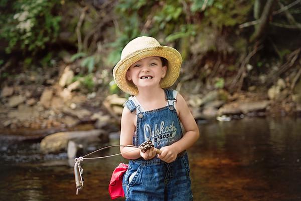 "Little C ""A Boy & his Fish"" Model Shoot 2018"