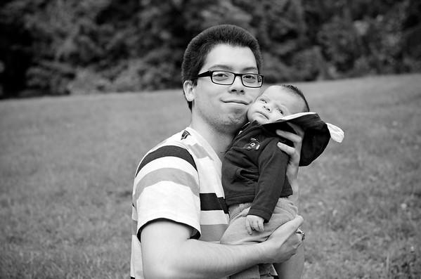 Little I & Dad 2016