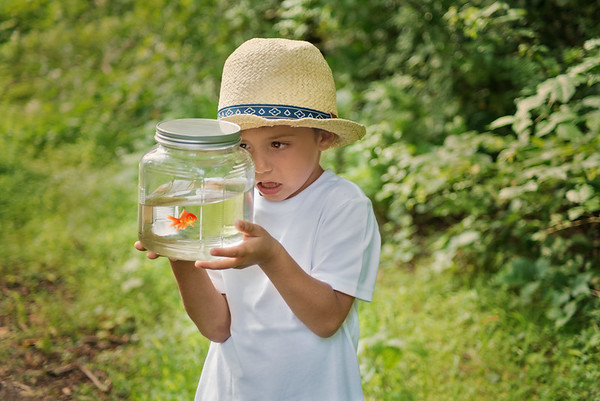 "Little R ""A Boy & His Fish"" Model Shoot 2018"