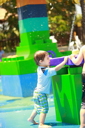 Logan at Legoland