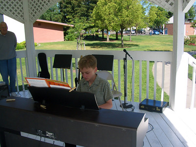 MSM Recital in the park