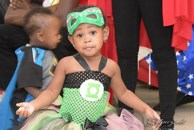 Ma'Laysia's 2nd Costume Birthday Party
