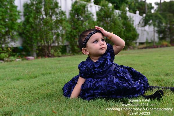 Manvi's 1st Birthday (07.21.2013)
