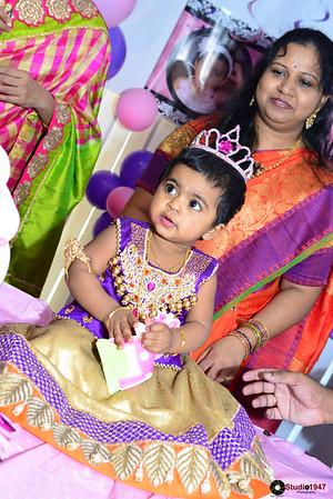 Manvitha 1st Birthday (03.15.2015)