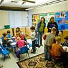 Sasha's Sunday School class.