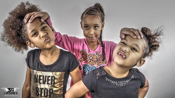 Marsha, Aaliyah & La'Niyah