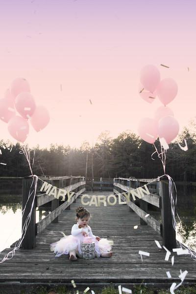 Mary Carolynn {One Year}