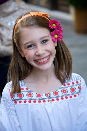 Mary - Age 8