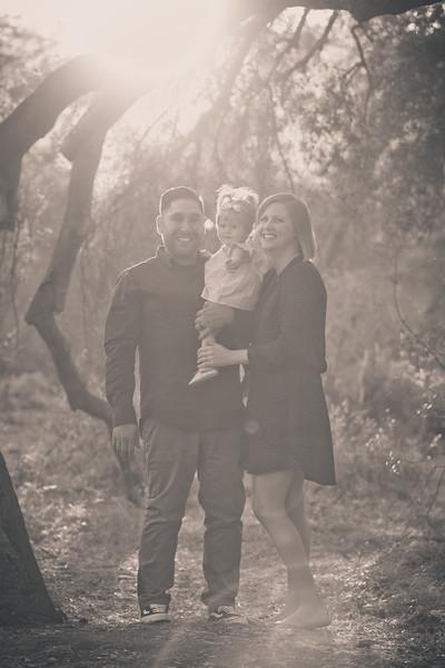 Mattice Family - B&W