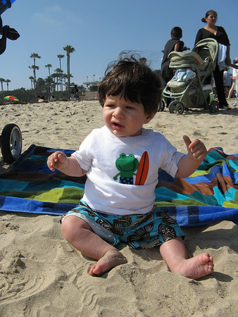 Month 8 -- First Beach Experience