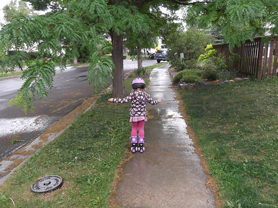 May 2012 - Playing in the rain