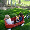 Spit brothers in the wagon!
