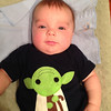 Austin's first Star Wars Day.