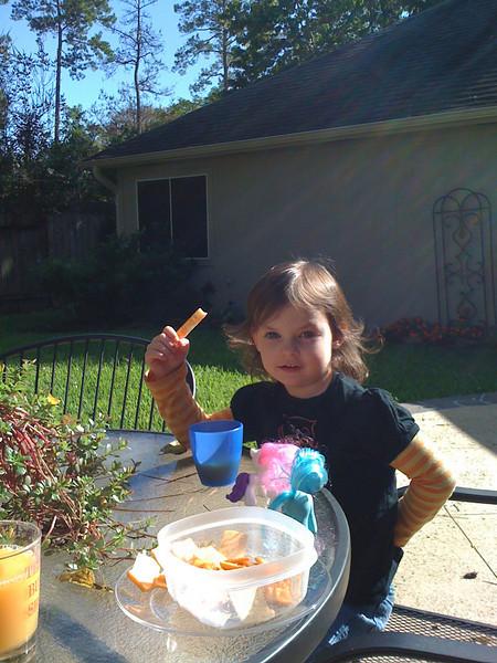 Megan in October 2009