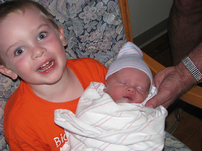 Alex and his baby brother