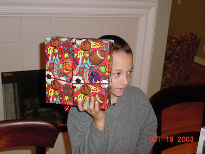 Michael Turns 8 in 2003