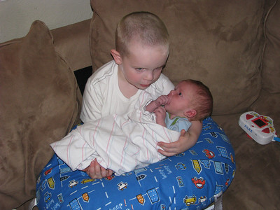 I love my baby brother