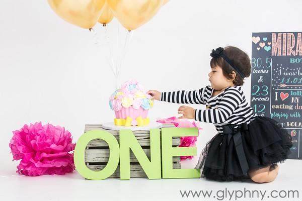 Miranda's 1st Birthday