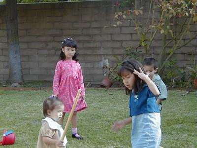 Nai Nai and Yeh Yeh's Backyard