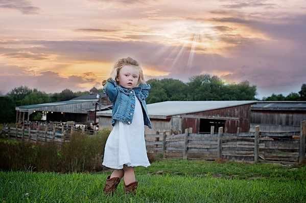 Miss K Turns 2 Country Girl 2016
