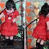 Red dress blkpolkadots combo1