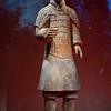 Generaal van het Terracotta leger uit Xian, China.