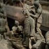 Model van de massafabricage van het terracotta leger. 220 jaar voor Christus...