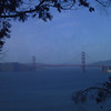 GG Bridge seen from Lincoln Park