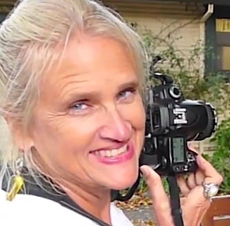 Mary teaching photography in California