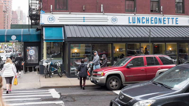 EJ's Luncheonette (for Elizabeth & Jessica)