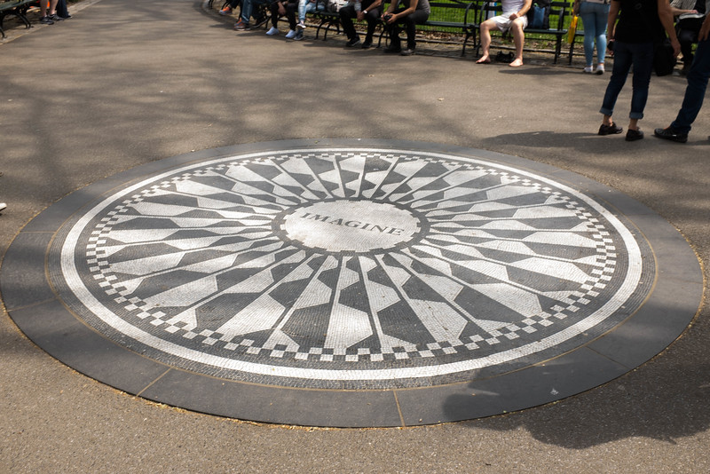 Strawberry Fields John Lennon Memorial