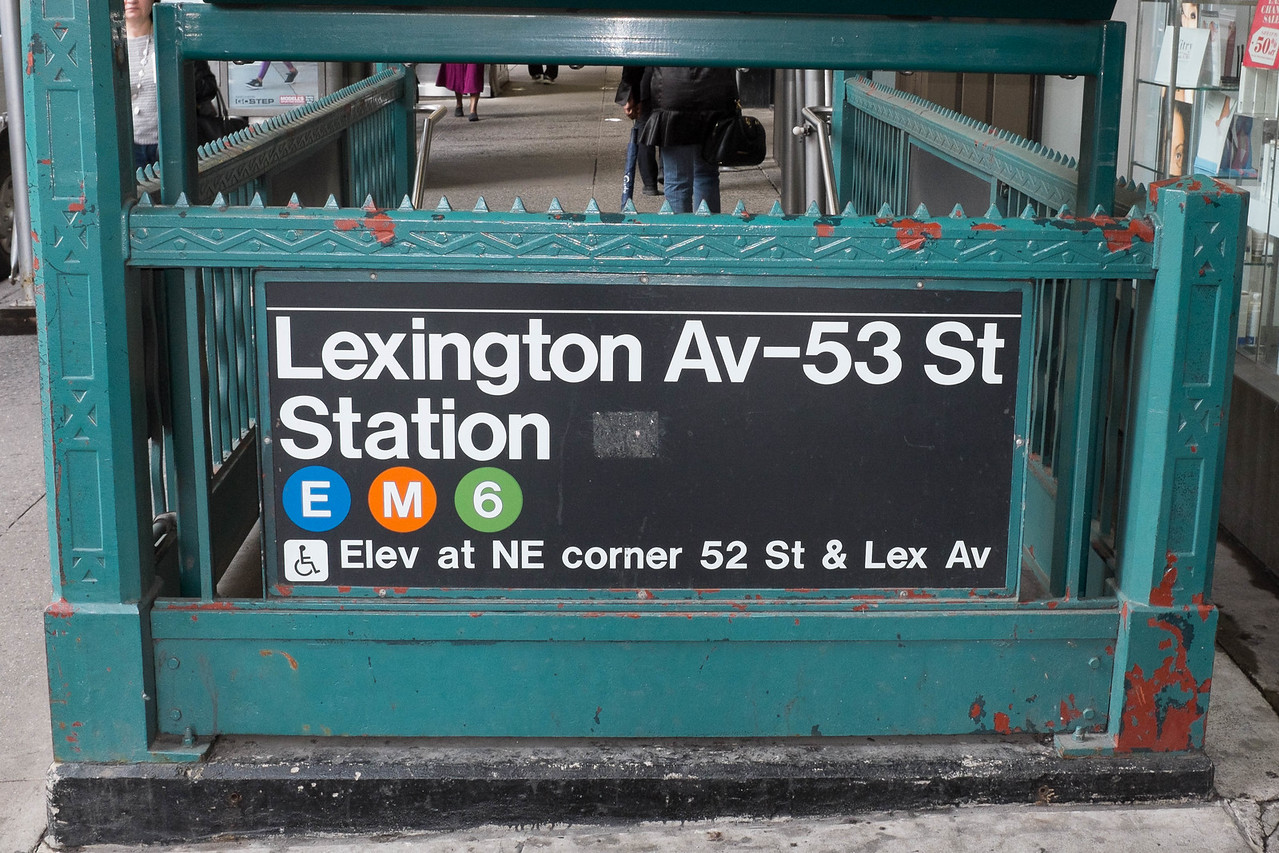 Lexington Ave subway