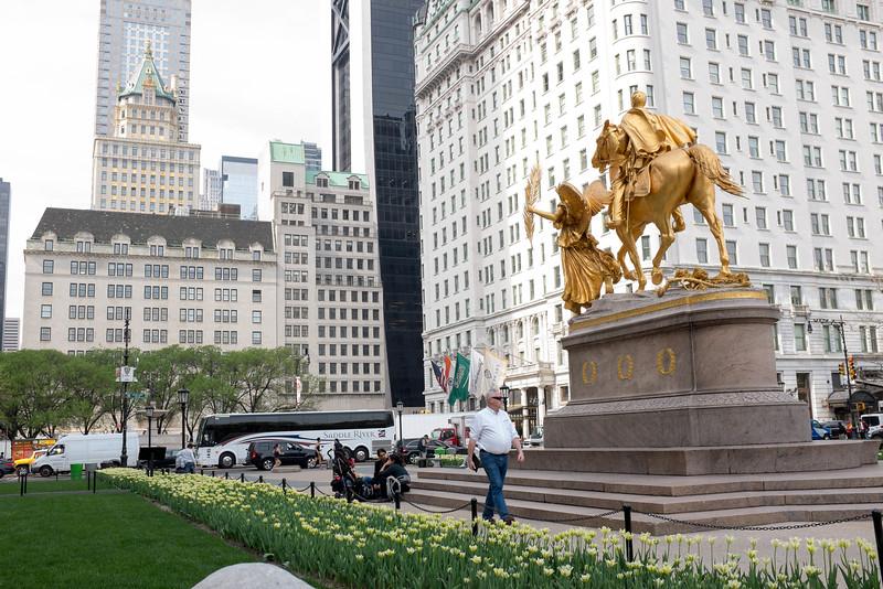 William Tecumseh Sherman Monument & The Plaza