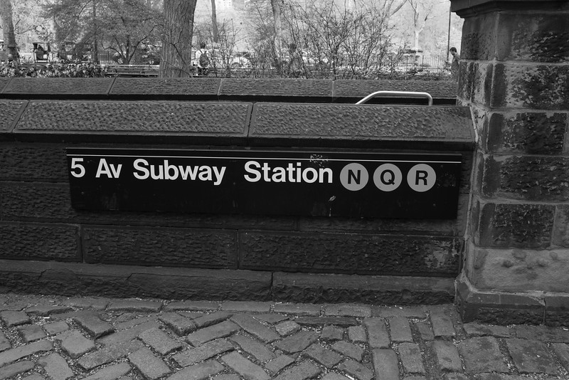 5th Ave Subway in Central Park