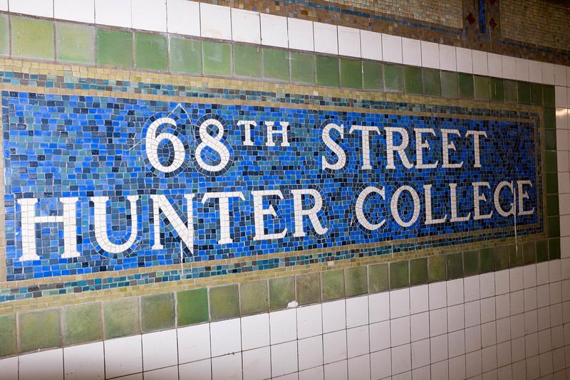 Lexington Avenue Subway 68th Street Stop
